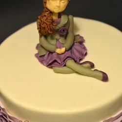Kislányos torta
