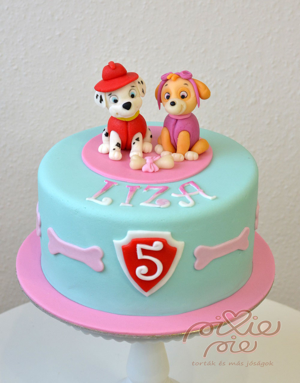 lányos torta képek Mancs lányos torta   PixiePie torta lányos torta képek