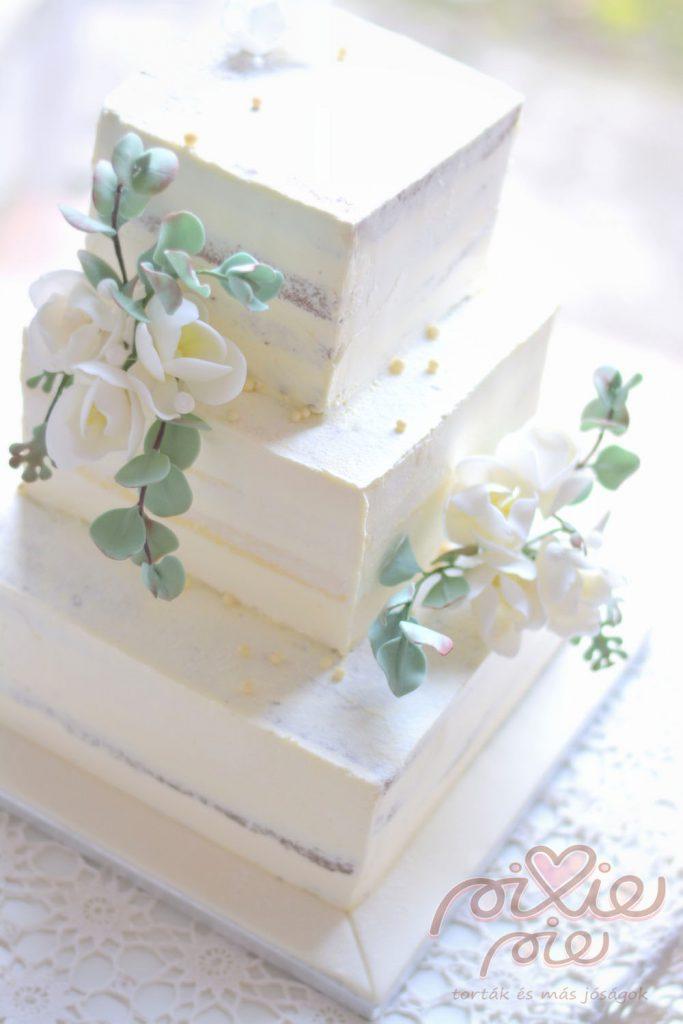 Cake Images In Square Shape : DSC_1876.szerk - PixiePie torta