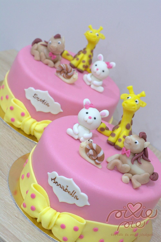 születésnapi torta ikreknek Torta ikreknek   PixiePie torta születésnapi torta ikreknek
