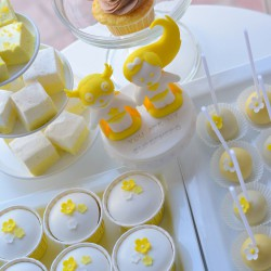 Sárga desszertek